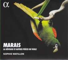 Marin Marais (1656-1728): Pieces de Violes, CD
