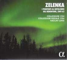 Jan Dismas Zelenka (1679-1745): I Penitenti al Sepolcro del Redentore (Oratorium ZWV 63), CD