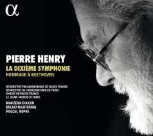 Pierre Henry (1927-2017): La Dixieme Symphonie - Hommage a Beethoven (8-sätzige Version), CD