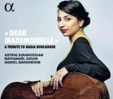 Astrig Siranossian - Dear Mademoiselle (A Tribute to Nadia Boulanger), CD