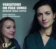 Anna Besson - Variations on Folk Songs, CD