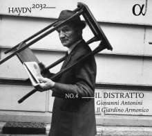 Joseph Haydn (1732-1809): Haydn-Symphonien-Edition 2032 Vol.4 - Il Distrato, CD