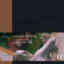Joseph Haydn (1732-1809): Haydn-Symphonien-Edition 2032 Vol.5 - L'Homme de Genie (180g), 2 LPs