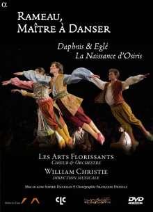 Jean Philippe Rameau (1683-1764): Daphnis & Egle (Ballett 1753), DVD