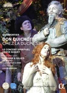 Joseph Bodin de Boismortier (1689-1755): Don Quichotte chez la Duchesse, DVD