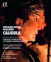Giovanni Maria Pagliardi (1637-1702): Caligula (Marionetten-Oper), Blu-ray Disc