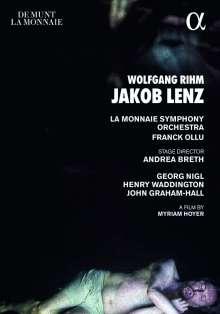 Wolfgang Rihm (geb. 1952): Jakob Lenz, DVD