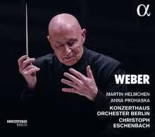 Carl Maria von Weber (1786-1826): 200 Jahre Konzerthaus Berlin - Musik von Carl Maria von Weber, CD