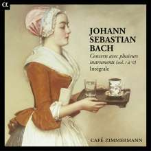 Johann Sebastian Bach (1685-1750): Concerts avec plusieurs instruments Vol.1-6, 6 CDs