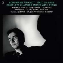 Robert Schumann (1810-1856): Klavierbegleitete Kammermusik, 7 CDs