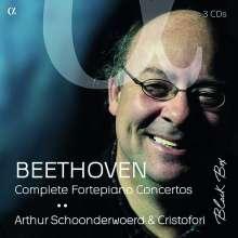 Ludwig van Beethoven (1770-1827): Klavierkonzerte Nr.1-5 (Wiederauflage exklusiv für jpc), 3 CDs