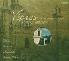 Vespern am Hofe Karls VI in Wien, CD
