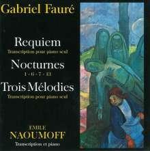 Gabriel Faure (1845-1924): Requiem op.48 für Klavier, CD