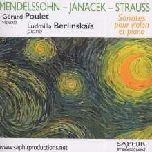 Gerard Poulet & L.Berlinskaia - Sonaten f.Violine & Klavier, CD