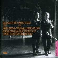 Guillaume Sutre & Miguel Da Silva - Duos für Violine & Viola, 2 CDs