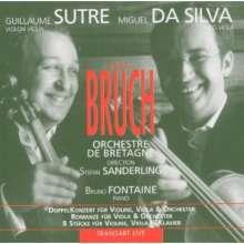 Max Bruch (1838-1920): Konzert für Violine, Viola & Orchester op.88, CD