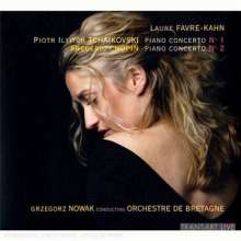 Laure Favre-Kahn spielt Klavierkonzerte, CD