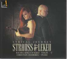 Rachel Kolly D'Alba - Strauss & Lekeu, CD