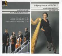 Wolfgang Amadeus Mozart (1756-1791): Klavierkonzerte Nr.10,12,13 (arrangiert für Harfe & Streichquartett), CD