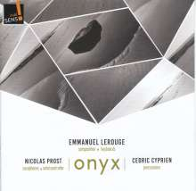 """Emmanuel Lerouge: Kammermusik """"Onyx"""", CD"""