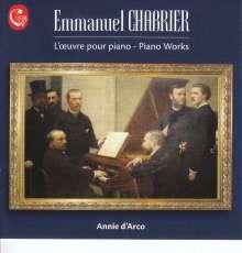 Emmanuel Chabrier (1841-1894): Klavierwerke, CD