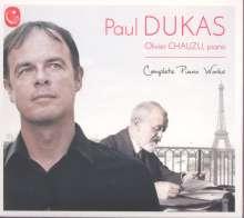 Paul Dukas (1865-1935): Klaviersonate es-moll, CD