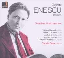 George Enescu (1881-1955): Kammermusik 1895-1906, CD