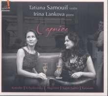 Tatiana Samouil & Irina Lankova - Caprice, CD