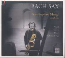 Pierre-Stephane Meuge - Bach Sax, CD