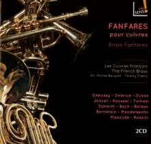 Les Cuivres Francais - Fanfares pour cuivres, 2 CDs