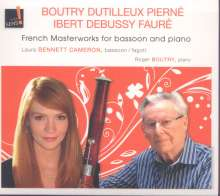Musik für Fagott & Klavier - French Masterworks for Bassoon and Piano, CD