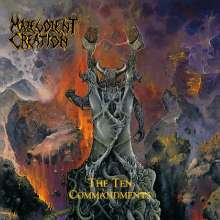 Malevolent Creation: The Ten Commandments (LImited-Edition) (Blue/Black/Clear Splattered Vinyl), LP