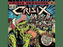 Crisix: American Thrash (Limited Edition) (Red Vinyl), LP