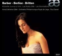 Anne-Catherine Gillet, CD