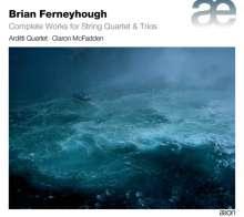 Brian Ferneyhough (geb. 1943): Sämtliche Werke für Streichquartett & Streichtrio, 2 CDs
