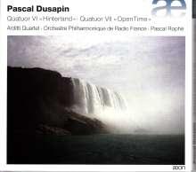 "Pascal Dusapin (geb. 1955): Streichquartett Nr.7 ""Open Time"", CD"