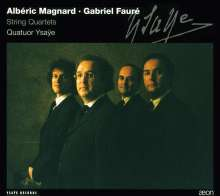 Alberic Magnard (1865-1914): Streichquartett op.16, CD