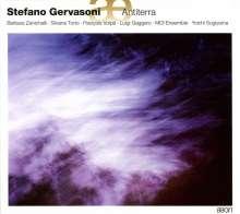 Stefano Gervasoni (geb. 1962): Antiterra für 12 Instrumente, CD