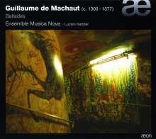 Guillaume de Machaut (1300-1377): Balladen, CD