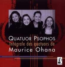Maurice Ohana (1914-1992): Streichquartette Nr.1-3, CD