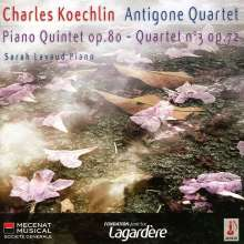 Charles Koechlin (1867-1950): Klavierquintett op.80, CD