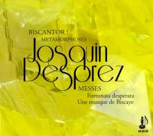 "Josquin Desprez (1440-1521): Missa ""Fortuna Desperata"", CD"