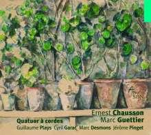 Ernest Chausson (1855-1899): Streichquartett op.35, CD