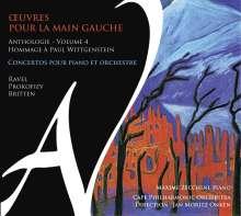 """Klavierwerke für die linke Hand """"Oeuvres Pour la Main Gauche"""" - Anthologie Vol.4, CD"""