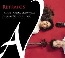 Juliette Salmona & Benjamin Valette - Retratos, CD