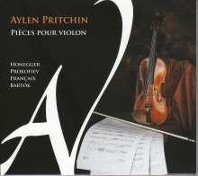 Aylen Pritchin - Pieces pour Violon, CD