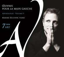 """Klavierwerke für die linke Hand """"Oeuvres Pour la Main Gauche"""" - Anthologie Vol.9, CD"""