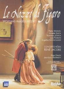 Wolfgang Amadeus Mozart (1756-1791): Die Hochzeit des Figaro, 2 DVDs