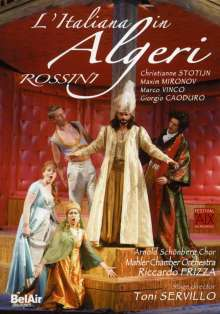 Gioacchino Rossini (1792-1868): L'Italiana in Algeri, DVD