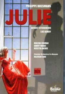 Philippe Boesmans (geb. 1936): Julie, DVD